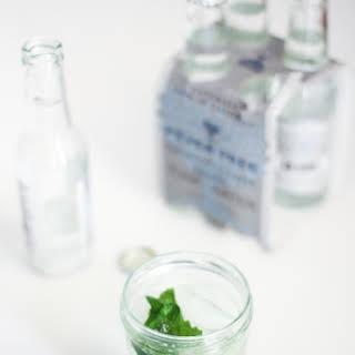 Italian Basil Gin and Tonic.