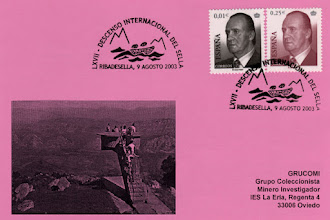 Photo: Matasellos del 67 Descenso internacional del Sella, en Ribadesella 2003