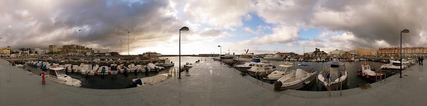 Photo: Spain, Andalusia, Tarifa, harbour