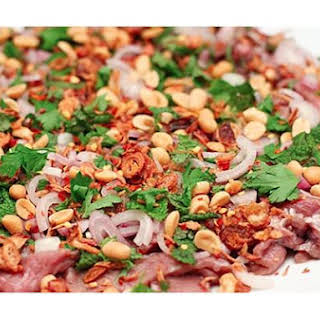Vietnamese Beef Carpaccio.