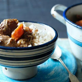 Spiced Mutton Stew with Apricots Recipe