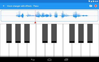 Screenshot of Voice changer with effects