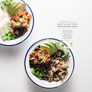 Ahi Tuna Poke Quinoa Bowl