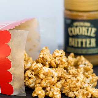 Speculoos Cookie Butter Popcorn.