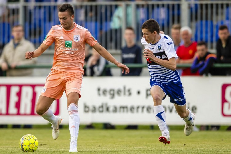 Un autre joueur prêté par Anderlecht trouve le chemin des filets - Walfoot.be