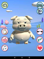 Screenshot of Talking Piggy