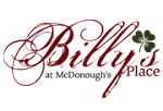 Logo for Billy's Place Savannah