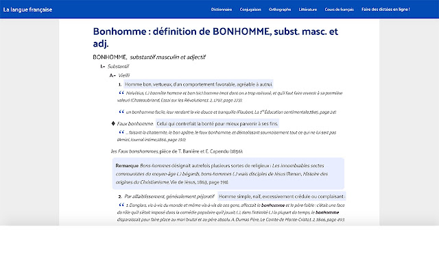 98a580045f2 Dictionnaire   définitions mots français