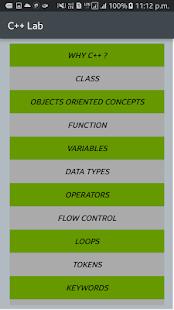 C++ Lab - náhled