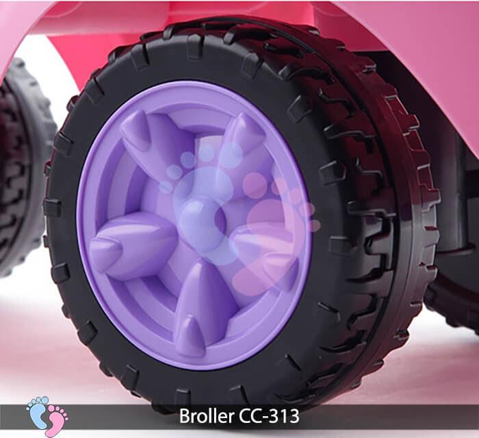 Xe chòi chân oto Broller CC 313 16