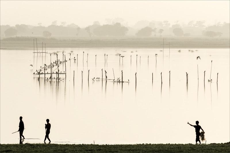 Mattino sul lago di alberto raffaeli