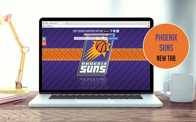 NBA Phoenix Suns New Tab