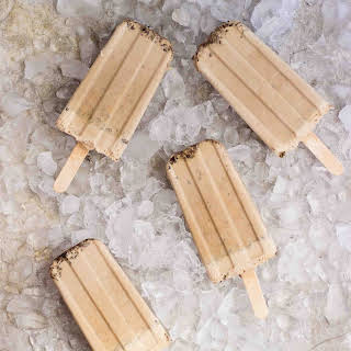 Creamy Iced Coffee Pops.