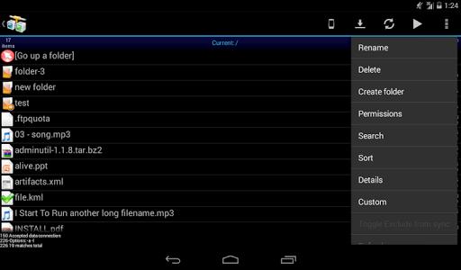 AndFTP screenshot 14