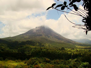 Photo: Le volcan Arenal au Costa Rica
