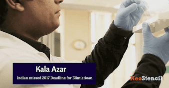Kala Azar – India missed 2017 elimination deadline