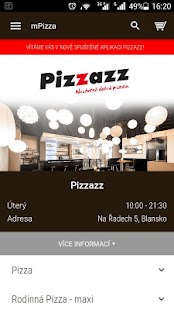 Pizzazz Blansko- screenshot thumbnail