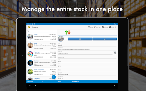 Storage Manager :  Stock Tracker 9
