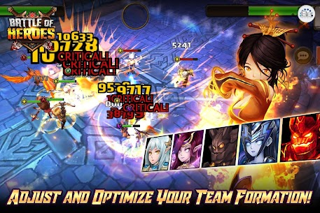 Battle of Heroes 10.61.38 MOD [x50 Attack/Health/Speed] Apk 3