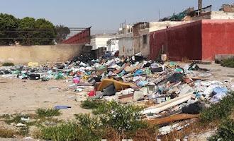 Quemas ilegales de 'maría' y basuras en El Puche