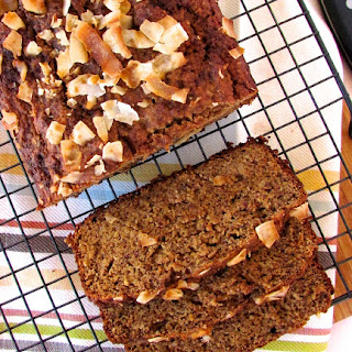 Coconut Almond Banana Bread