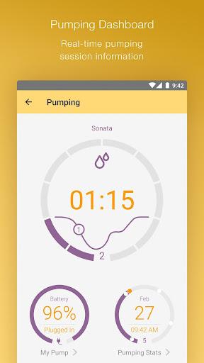 MyMedela Baby Tracker, Breastfeeding & Lactation screenshot 1
