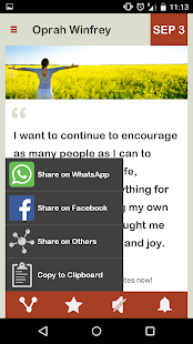Oprah Wisdom Daily- screenshot thumbnail