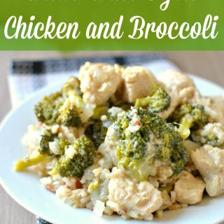 White Wine Dijon Chicken and Broccoli
