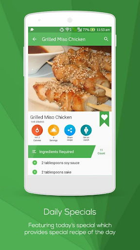 All free Recipes : World Cuisines screenshot
