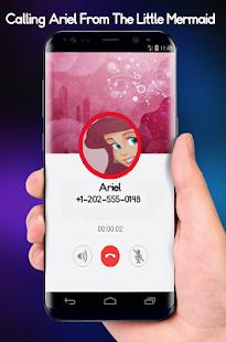 Calling Ariel Princess From Littel Cute Mermaid - náhled