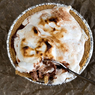 Frozen S'Mores Pie Recipe