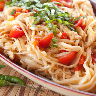 Hot Pepper Noodles.