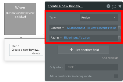 Bubble Review Workflow Fiverr Freelancer No Code Clone