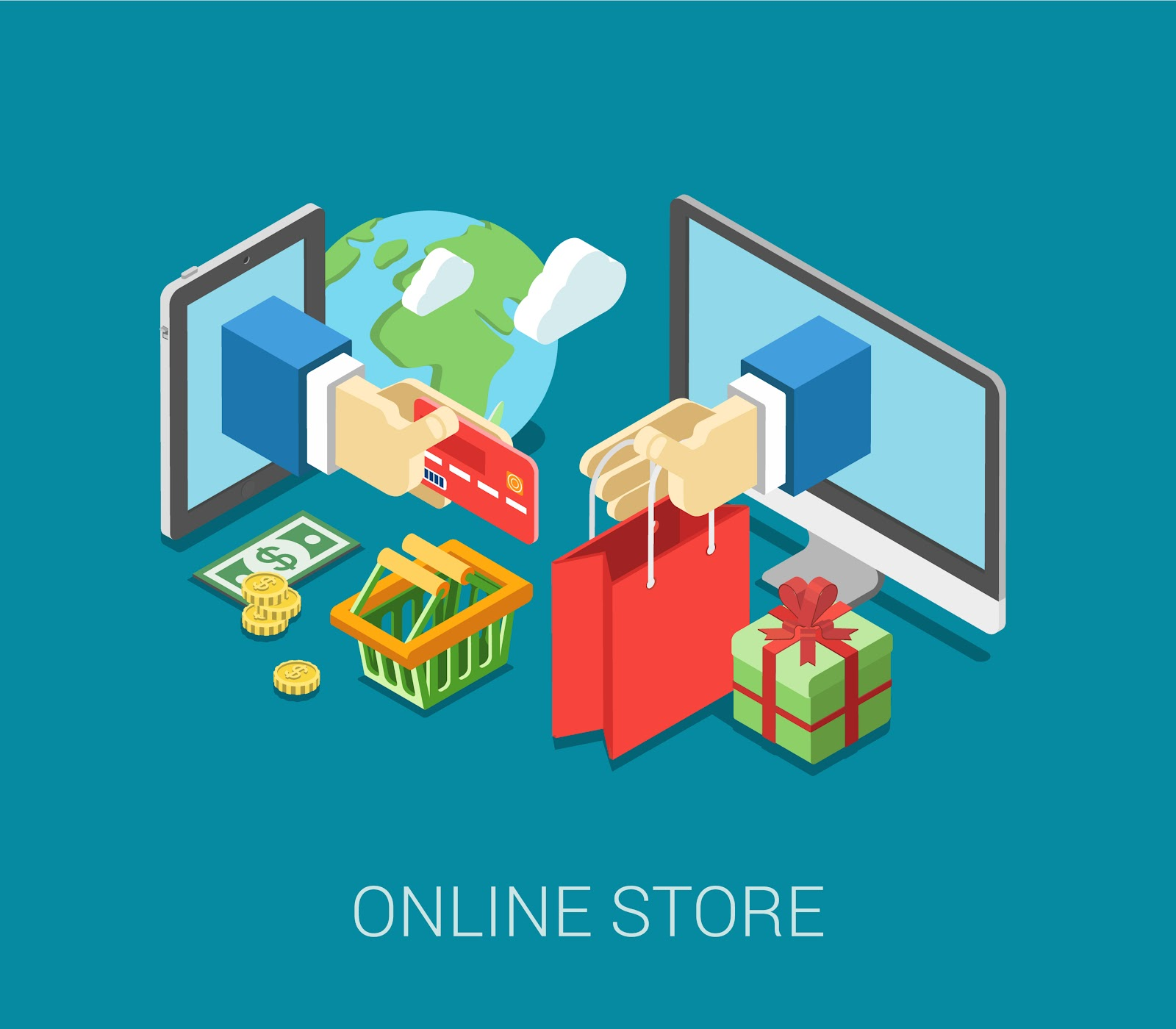 Online shopping is the future of retail with cloud commerce leading the charge.