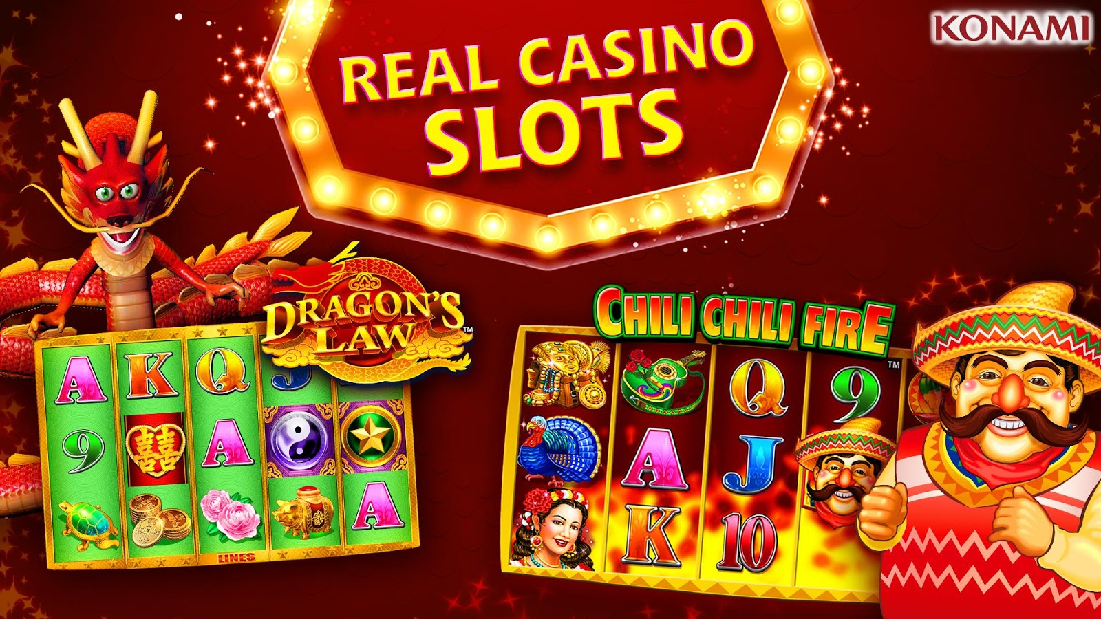 Play Konami Slots Online For Free
