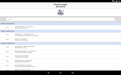Football Live Scores 3.8 screenshots 13