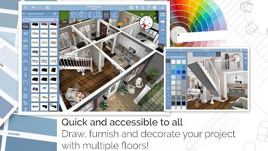 Home Design 3D Mod Apk + OBB 4.4.1 (Full Unlocked) 2