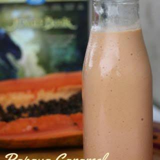Papaya Caramel Thick Shake.