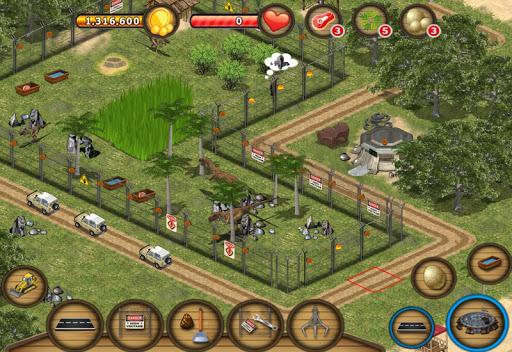 Jurassic Island: Dinosaur Zoo для планшетов на Android