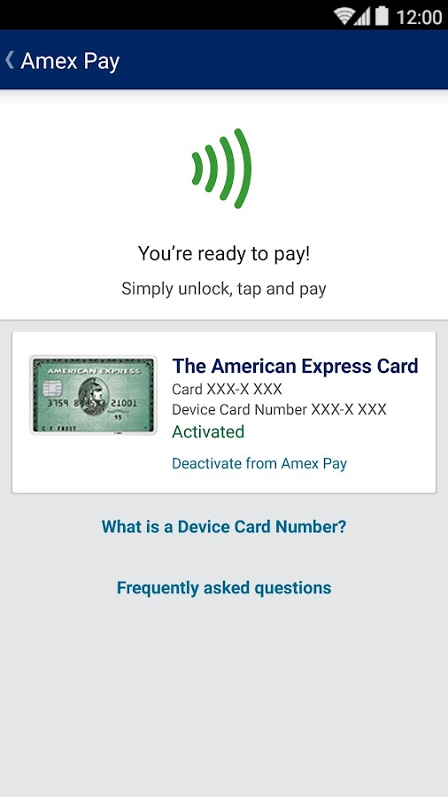 Amex ca android apps on google play amex ca screenshot negle Gallery