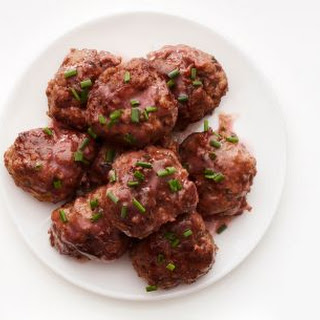 Beef-and-Bacon Meatballs