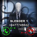Fake Video Call Slender icon