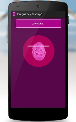 Pregnancy Test App Prank