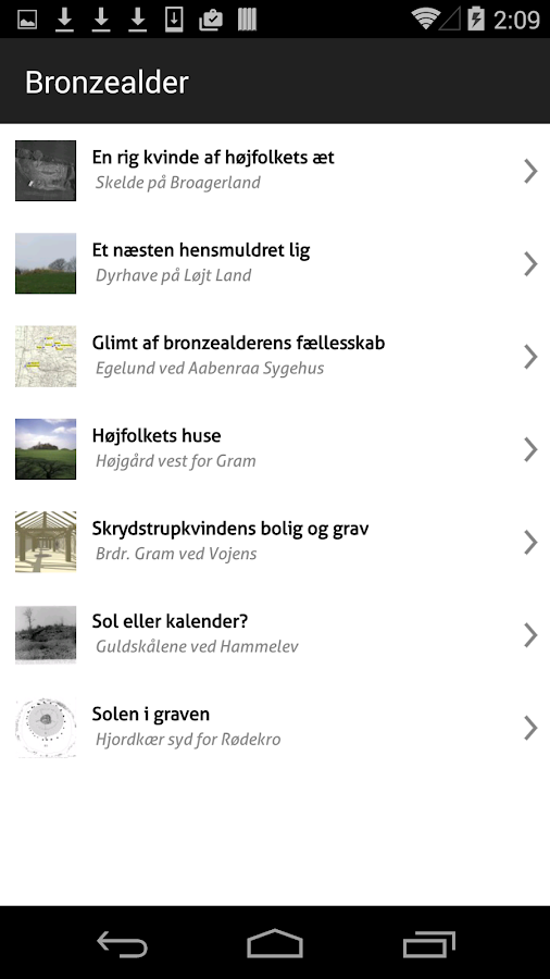 Oldtidsglimt- screenshot