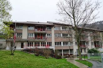 Photo: Noch ein letzter Blick an die Fassade. Bald wird alles anders sein! Der Umbau dauert 2 Jahre