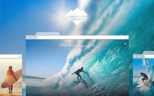Surfing New Tab