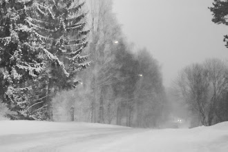 Photo: Snow-Road  More Winter picture from Norway...:)  ノルウェーの雪道 #FourSeasonsFriday curated by +Karin Nelson and +Stephonie Ogden