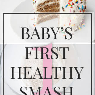 Recipe // Baby's First Healthy Cake.