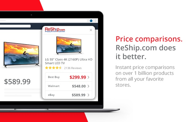 ReShip - Get price comparisons instantly