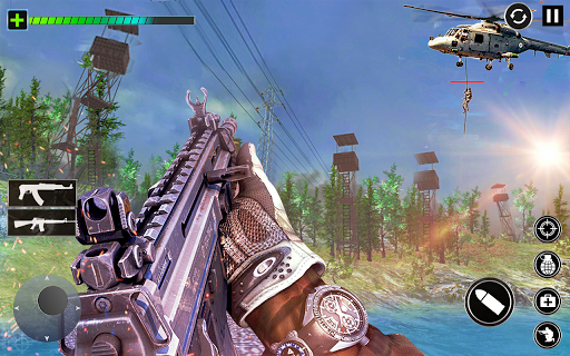 Combat Commando Gun Shooter  screenshots 1